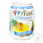 Non-alcoholic non-carbonated juice-containing drink with tropical fruit juice Fruiting 238ml