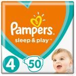 Подгузники Pampers Sleep & Play 4 Maxi 9-14кг 50шт
