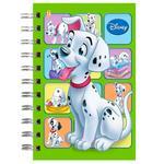 Tetrada Disney A6 Checkered Notebook with Spring 48 sheets