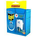 Електрофумігатор від комарів Raid 30 ночей з можливістю регулювання ступеня захисту