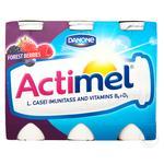 Продукт кисломолочный Danone Actimel лесные ягоды 1,5% 100г