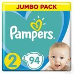 Подгузники Pampers New Baby-Dry 2 Mini 3-6кг 94шт
