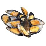 Polar Seafood Whole Mussels 1/2 Shell By Weight