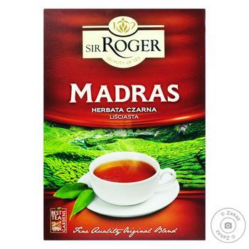 Чай Sir Roger Мадрас черный листовой 100г
