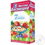 Vivsyanushka Oatmeal porridge 7 flavors of Assorted Instant 7*40g