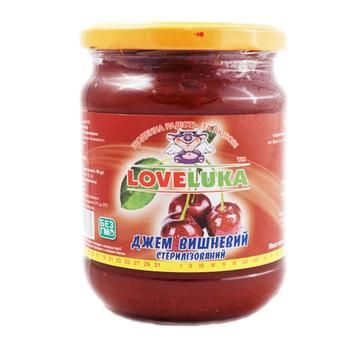 LoveLuka Cherry Jam 530g - buy, prices for Tavria V - image 1