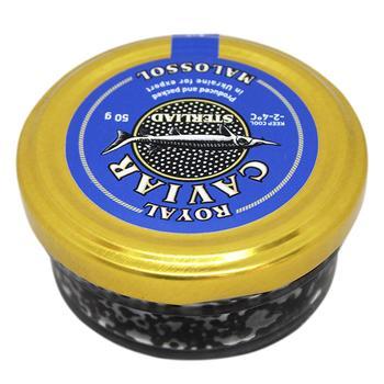 Икра чёрная Caviar Malossol севрюги 50г - купить, цены на Восторг - фото 1