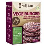 Смесь Soligranо веган для бургера пшенный со свеклой и чечевицей 120г