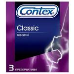 Презервативи Contex Класичні 3шт