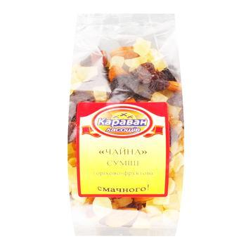 Смесь Караван лакомства Чайная орехово-фруктовая 180г