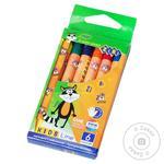 ZiBi Kids Line Wax Pencils 6 colors