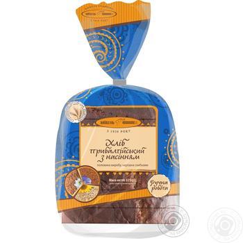 Хліб Київхліб Прибалтійський з насінням нарізний 325г - купити, ціни на Фуршет - фото 4
