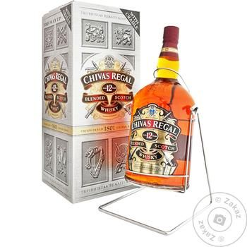 Виски Chivas Regal 12 лет 40% 4.5л - купить, цены на Таврия В - фото 1