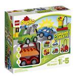Конструктор Лего Дупло Віль Машинки-трансформери для дітей від 2 до 5 років 12 деталей