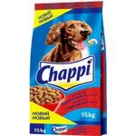 Dry dog food Chappi beef and vagetables 15kg