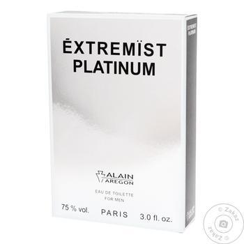 Вода туалетна Alain Aregon Extremist Platinum Dark чоловіча 90мл