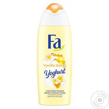 Гель для душу Fa ванільный мед 250мл - купити, ціни на Novus - фото 1