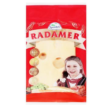 Сир Spomlek Радамер твердий нарізаний 45% 150г - купити, ціни на CітіМаркет - фото 3