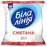 Bila Liniya Sour Cream 20% 400g