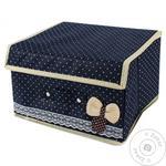 Ящик для хранения с крышкой 26х20х15см