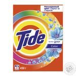 Laundry detergent powder Tide Color Lenor Touch of Scent 450g