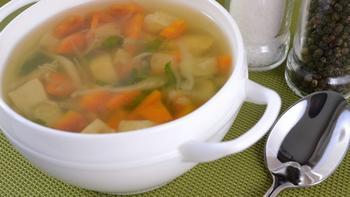 Суп из сельдерея и картофеля