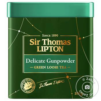 Lipton Yellow Sir Thomas green tea 100g - buy, prices for MegaMarket - image 1