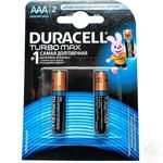 Батарейка DURACELL Ultra Power AAA 1.5V LR03 2шт