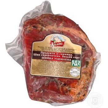 Шийка Колос Улюблена свиняча сирокопчена