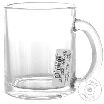 Кружка ОСЗ чайная 300мл - купить, цены на Ашан - фото 1