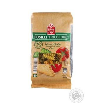 Fine life fusilli pasta 500g