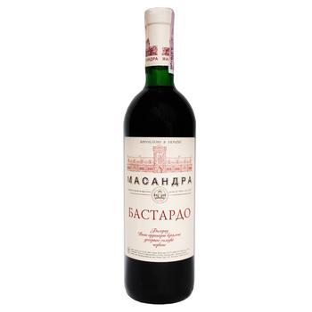 Вино Масандра Бастардо південний червоне солодке 16% 0,75л