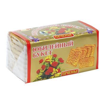 Печиво Бісквіт Шоколад Ювілейний букет 200г - купити, ціни на ЕКО Маркет - фото 1