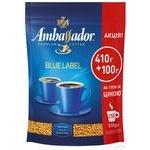 Кофе Ambassador Blue Label растворимый сублимированный 510г