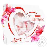 Конфеты Raffaello Серце хрустящие 120г