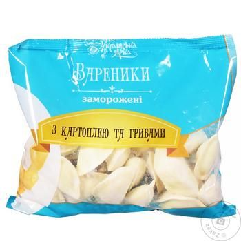 Вареники Украинская Звезда картофелем и грибами 700г - купить, цены на Таврия В - фото 1