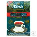Черный чай Дилма цейлонский крупнолистовой высший сорт 50г