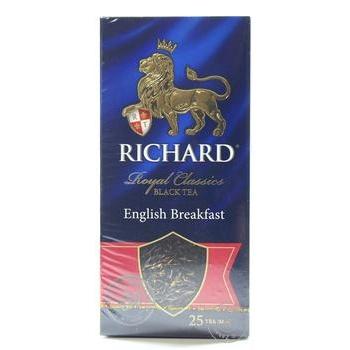 Richard Royal English Breakfast black tea 25pcs*2g