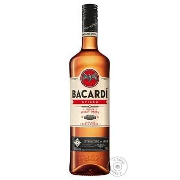 Ром Bacardi Spiced 40% 1л - купити, ціни на МегаМаркет - фото 1