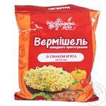 Вермишель Українська Зірка со вкусом мяса неострая 65г