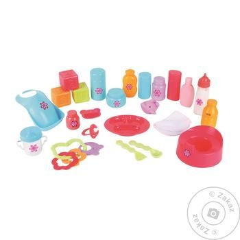 Ric Roc Set of Accessories for Baby Dolls - buy, prices for Auchan - photo 1