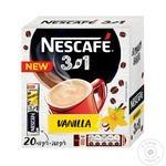 Напиток кофейный Nescafe 3в1 Ваниль растворимый в стиках 20*13г