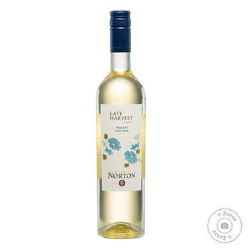 Bodega Norton Late Harvest Moscato White Sweet Wine 10% 0.75l
