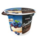 Danissimo Two-Layer Bilberry Cheesecake Flavored Sour-Milk Dessert 6,4% 230g