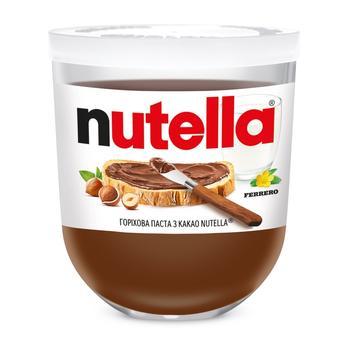 Ореховая паста с какао Nutella 200г - купить, цены на Метро - фото 1