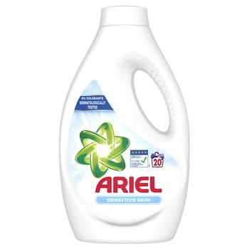 Ariel Liquid Automatic Washing Detergent for Sensitive Skin 1,1l