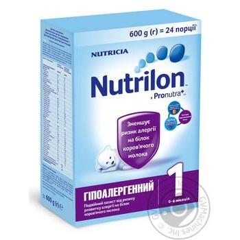 Смесь Nutricia Nutrilon Гипоаллергенный 1 600г - купить, цены на Novus - фото 1
