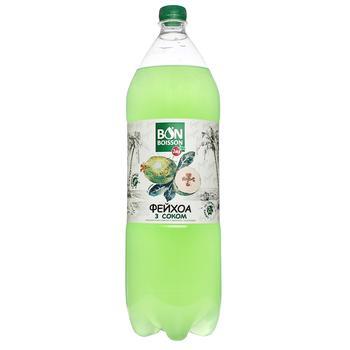Напиток Бон Буассон газированный со вкусом фейхоа 2л