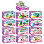 Iblock Toy Construction for Girls PL-920-25 in assortment