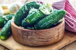 Швидкі малосольні огірки в банці